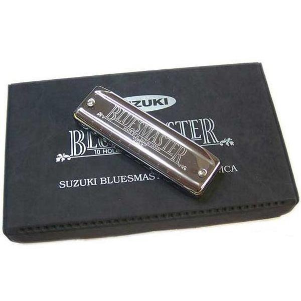 Suzuki Bluesmaster harmonica Box with 6 keys - MR-250-S
